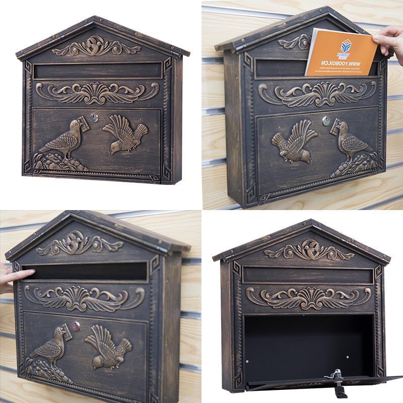 Aluminum cast mailbox