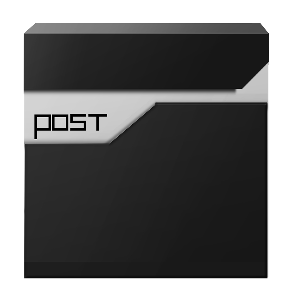 Metal Large Capacity Post Box Mailboxes Outdoor