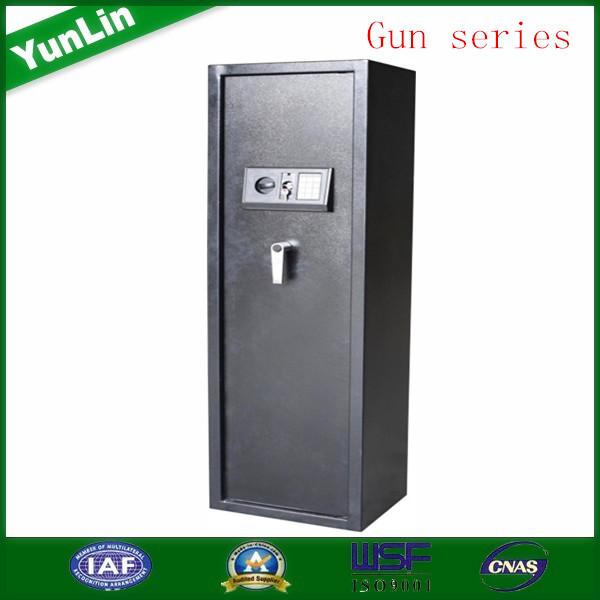 gun rifle storage safe box , different size for 3 ,5 ,6 ,7, 10 guns, with 1 machanical lock