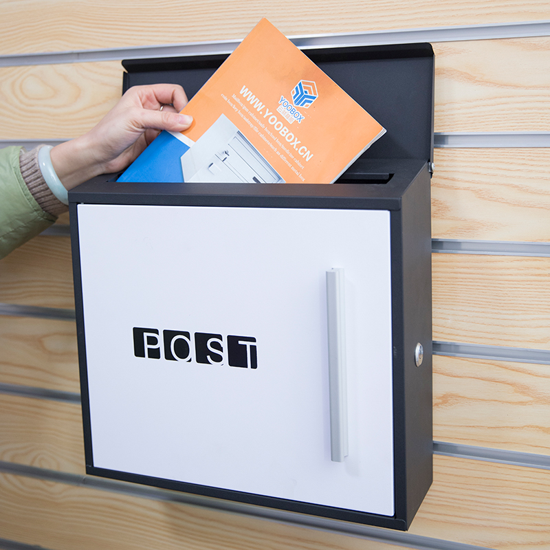 Residential Mailboxes Post Wall Mounted Galvanized Steel
