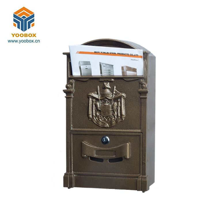 ME006-aluminum casting Mailbox